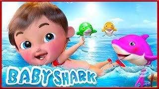 Download now Baby Shark Happy Birt ay Song Wheels on the Bus Yes Yes Doctor Song - Banana Cartoon MP3
