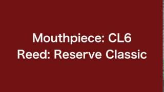 Clarinet mouthpieces (M30, CL6) comparison