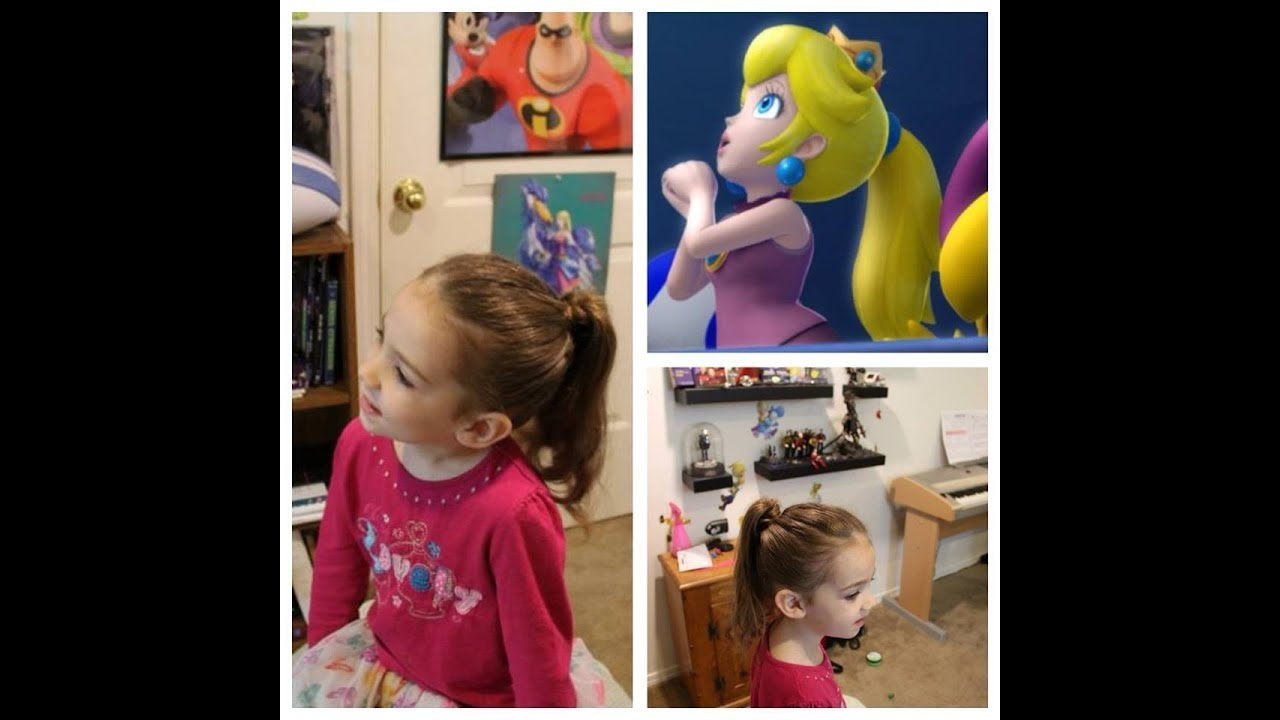princess peach perky ponytail, five ways to perk up your ponytail