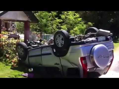 Worst Accident of Jagna mayor Alex Villacastin (Bohol Philippines) car upside down