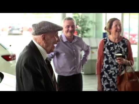 94 Year OId Michael Kearns Buys a SEAT Mii