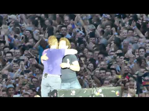 Coldplay Live Everglo At Principality Stadium Cardiff Wales 2017