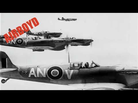 British Planes Over Tunisia (1943)