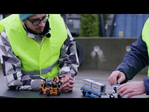 Container Yard - LEGO Technic  - Designers' Workshop On Tour