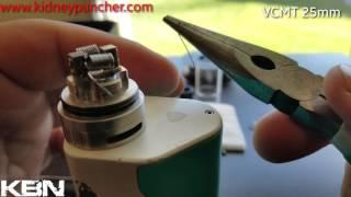 VCMT 25mm Review/Build tutorial