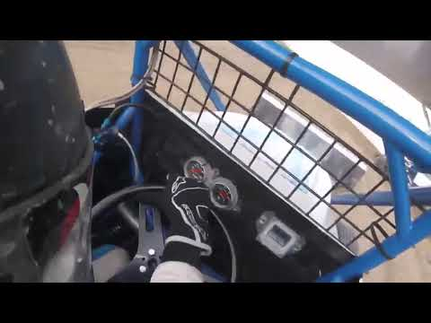 Empire Super Sprints (2017)- Trying to chase down Coleman Gulick in practice Website: www.BrandonKiddRacing.com Facebook: ... - dirt track racing video image