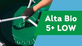 Обзор автономной канализации Alta Bio 5+low