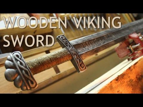 Real Metal Looking Sword Out Of Pallet Wood