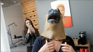 SHE PRANKED ME W/ HORSE HEAD!