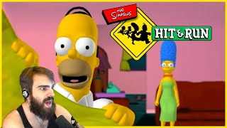 Simpsons GTA Clone - Simpsons Hit and Run Reborn (Amazing Game)