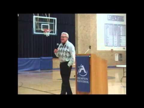 Jack Bennet - Part 1- Presentation at Assumption High School