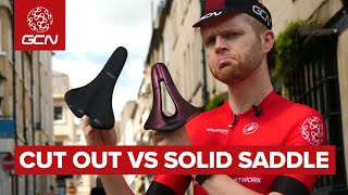 Why You Should Consider A Cut Out Saddle On Your Road Bike   GCN's Guide To Cycling Saddle Comfort