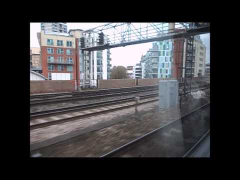 Charing Cross to Grove Park, train journey.