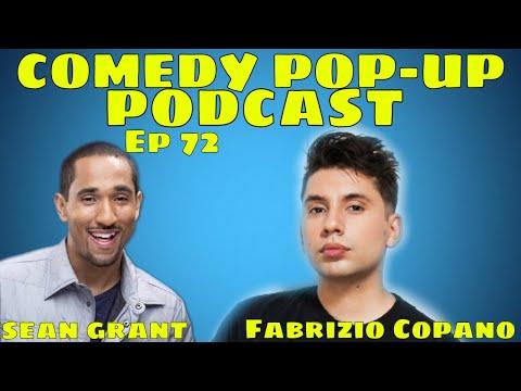 Comedy Pop-Up Podcast Ep 72 Fabrizio Copano