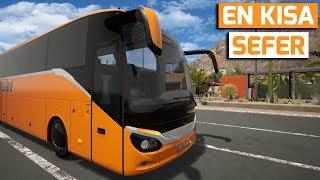 EN KISA SEFERİMİZ OLDU !! // TOURIST BUS SIMULATOR #18