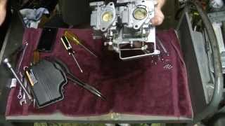 How to clean Yamaha 20hp/25hp 2 stroke outboard carburetor