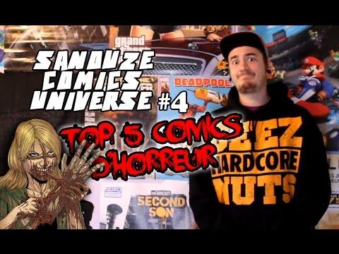 TOP5 des comics d'horreur - SCU #4