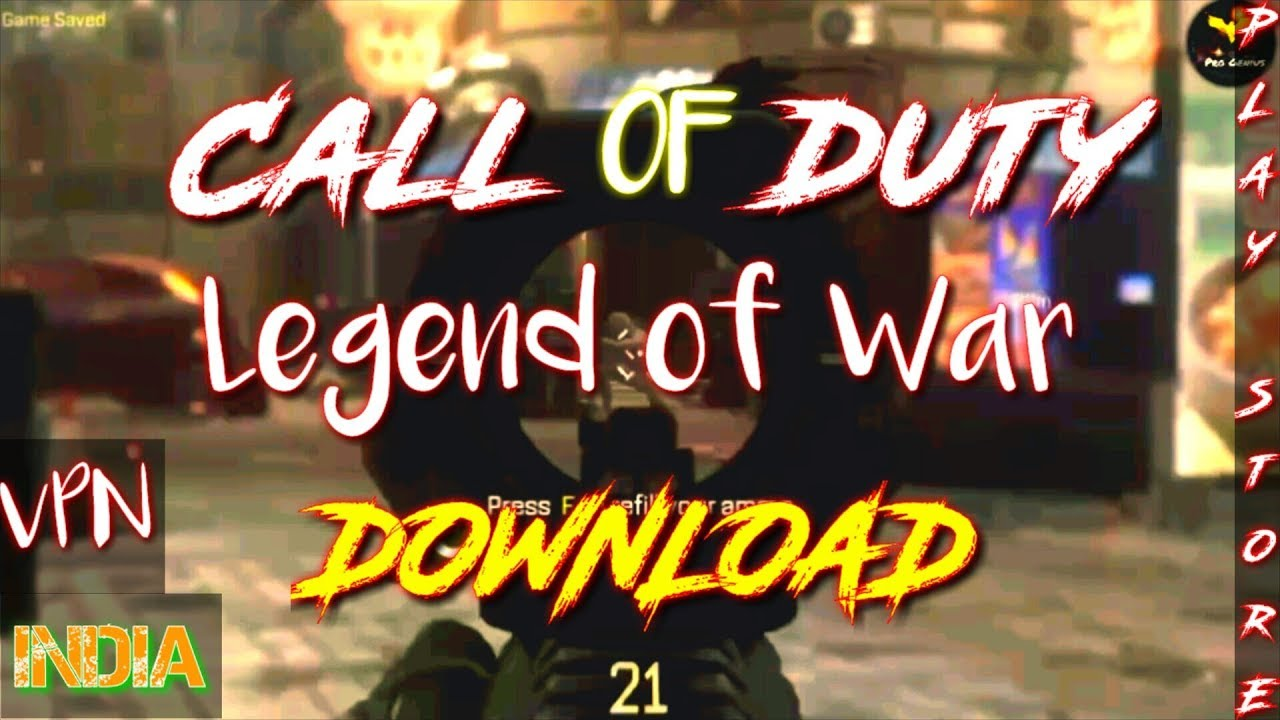 How to download call of duty legend of war in India | Pro Genius |