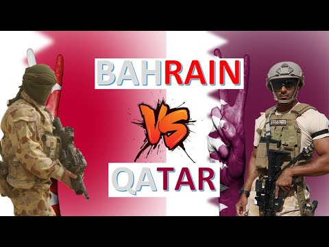 Bahrain vs Qatar Military Power & Economic Comparison 2020