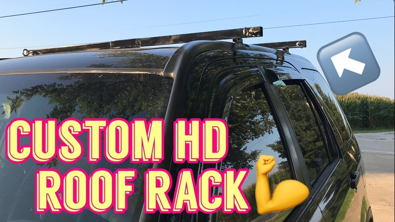 Make Your Own Heavy Duty Roof Rack Cargo Rack Diy Walk