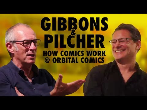 Dave Gibbons & Tim Pilcher talk about How Comics Work