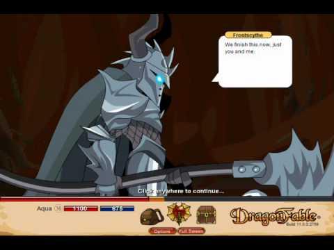 Let's Play Dragon Fable Pt 113 - Vilmor Saga - TRS fails...