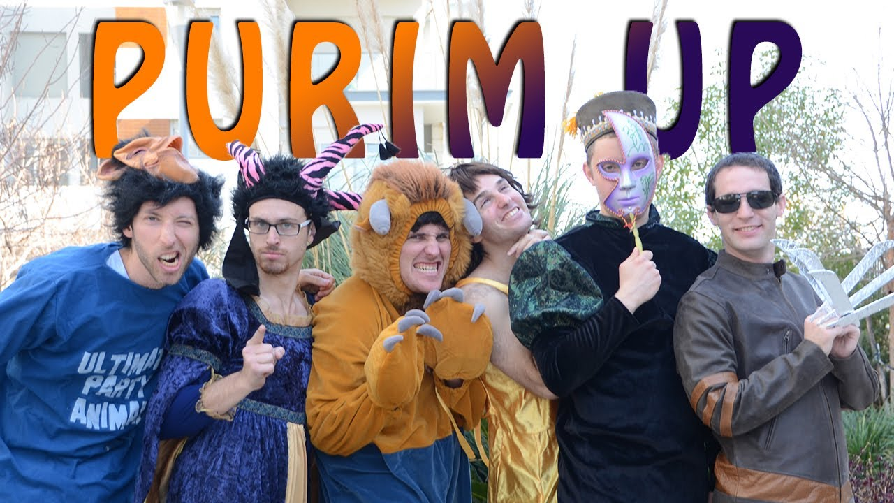Kippalive - Purim Up -  כיפה לייב