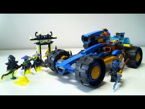 LEGO Live Construction : Ninjago's Jay Walker One (2/2) [Français]