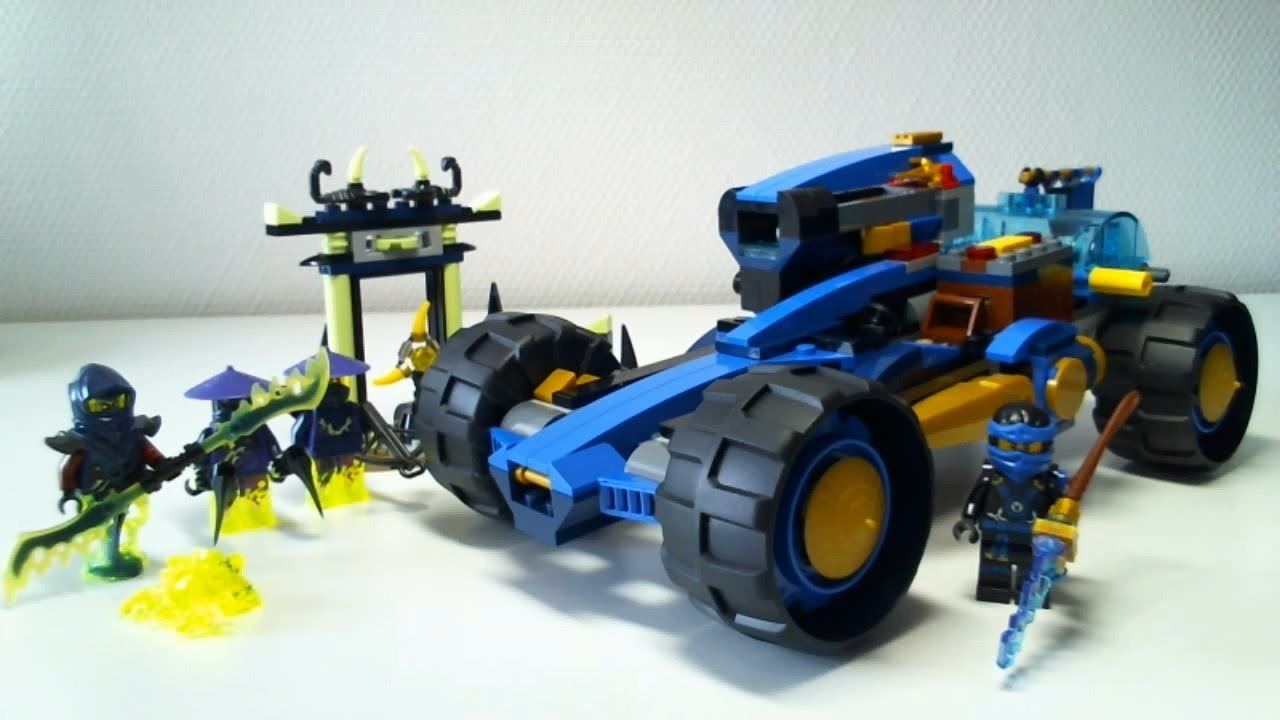 Lego live construction ninjago 39 s jay walker one 2 2 - Voiture ninjago ...