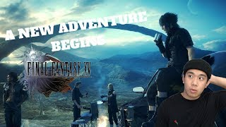 A NEW ADVENTURE BEGINS! - FINAL FANTASY 15 PART 1 (PC) Live Stream and More
