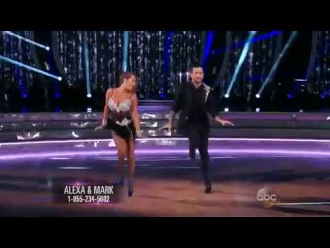 DWTS Season 21 Week 1: Alexa PenaVega & Mark Ballas - JIVE