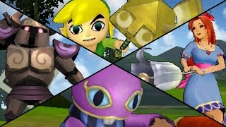 Hyrule Warriors Legends - All Character Victory Animations (DLC Included)