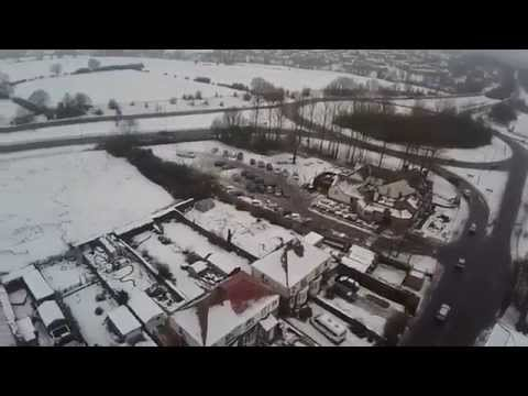 Dronfield in the snow