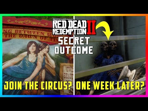 What Happens To The Two-Headed Girl That Joins The Circus In Red Dead Redemption 2? (Mystery Solved)