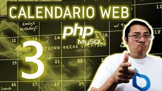 Calendario web con PHP y MySQL utilizando fullcalendar (Video 3 - Evento dayClick)