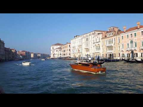 A Ride on the Grand Canal - Venice, Italy