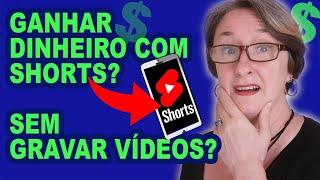 Como Ganhar Dinheiro com Youtube Shorts SEM Gravar Vídeos: Creative Commons