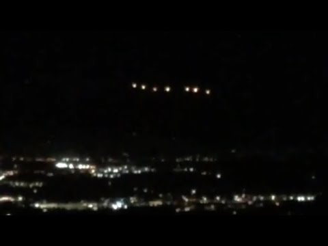 Stunning Seven Bright UFOs Leave Witnesses Amazed over Vista (California) - FindingUFO