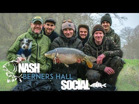 The Nash Social - Carp Fishing At Berners Hall Fishery With Nash Tackle