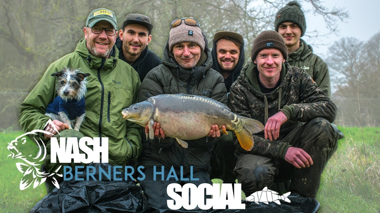 The Nash Social - Carp Fishing At Berners Hall Fishery With Nash Tackle