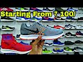 Branded Shoes (Nike,Puma,Adidas,Reebok,Vans) Sleeper Surplus Wholesale Market Delhi