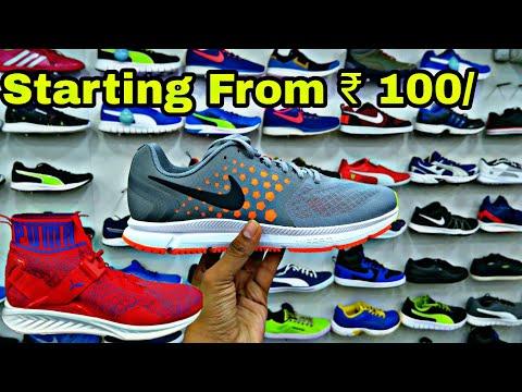 Branded Shoes (Nike,Puma,Adidas,Reebok,Vans) Sleeper Surplus Wholesale Market Delhi