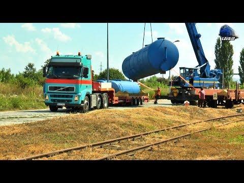Manevra LDH 80-0489-2 Shunting & Descarcare Rezervoare/Unload Tanks In Oradea Est Triaj