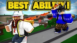 THE BEST ABILITY IN KNIFE SIMULATOR! (ROBLOX Knife Simulator)