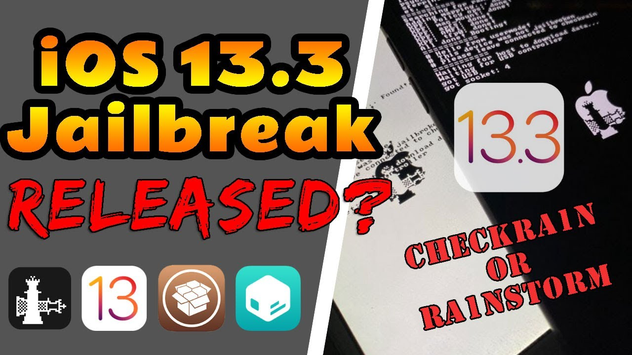 iOS 13.3 Jailbreak UPDATE [Checkra1n and Ra1nstorm RELEASED?]