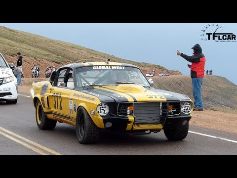 The cool cars, motorcycles & truck of the 2013 Pikes Peak International Hill Climb Victory Parade