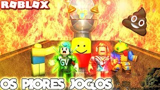 I PLAYED THE WORST ROBLOX GAMES WITH THE GAMERPLUS AND LOOK AT WHAT GAVE