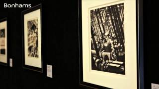 CHRISTOPHER RICHARD WYNNE NEVINSON: An Exhibition of Prints from an Important Private Collection
