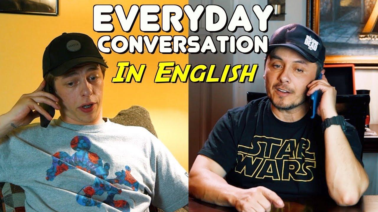 Conversación en Inglés del uso diario- Despacio y con traducción