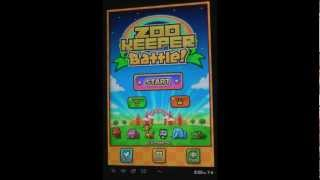 Let's Tri some mobile games! - Zookeeper Battle